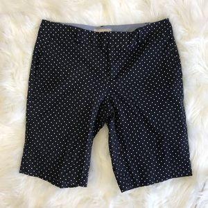 ❤️3/$20 Banana Republic Polka Dot Bermuda Shorts